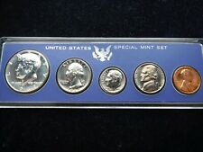 USA SPECIAL MINT SET 5 COINS WITH SILVER HALVE