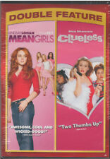 MEAN GIRLS/CLUELESS DOUBLE FEATURE (DVD, 2013, 2-Disc Set) NEW