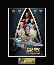 "Star Trek Cloud Minders Collage 8"" x 10"" Photo - 11"" x 14"" Black Matted"