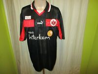"Eintracht Frankfurt Puma Spieler Version Trikot 98/99 ""Viag Interkom"" Gr.XL TOP"