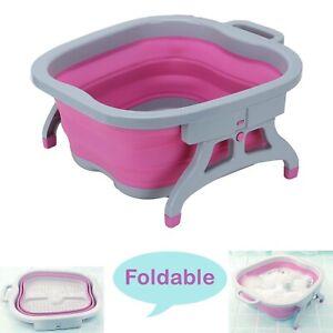 Comfortable Folding Foot Spa Pedicure Wet Bath Massage Bucket Brand new