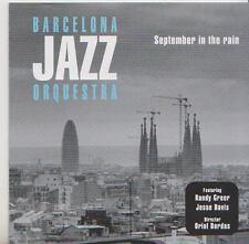 BARCELONA JAZZ ORQUESTRA  CD SEPTEMBER IN THE RAIN