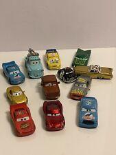 Disney Pixar Cars Lot Toy Vehicles Diecast Metal McQueen Mater Lot Of 12