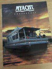 MYacht Pontoon Houseboat Boat Brochure - 1999