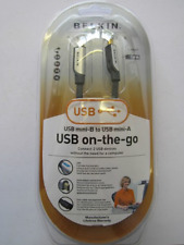 Belkin Premium on-the-Go USB Mini-B A Usb Cable Mini-a conectar 2 X Sin Pc