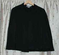 La Redoute ~ Lined Black Cape ~ Size 10 / 12 ~ NWOT