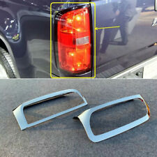 ABS Chrome Rear Tail Light Tail Lamp Cover 2pcs for Chevrolet Colorado 2015-2019