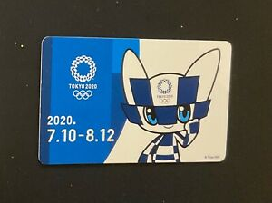 Tokyo 2020 Olympics  Metro card exclusive for media personnel