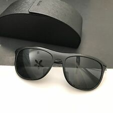 Prada Sports SPS01P 1BO-1A1 Black Light Weight Unisex Sunglasses NIB Italy