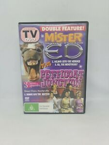 MISTER ED 3 Classic Episodes DVD Region 4 TV Show Very Good Condition