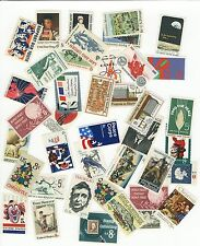 Lot of 20 Mixed Old Mint US Postage Stamps 5¢-8¢ - Mint Never Hinged