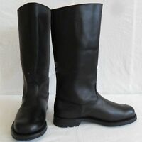 MILITARY WWII GERMAN ARMY EM LEATHER COMBAT OFFICER BOOTS IN SIZES