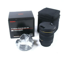 Sigma 17-50mm F2.8 EX DC OS HSM Lens Nikon AF - Nikon Camera Lens - BOXED