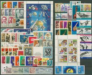 DDR - GERMANIA EST 1971 ANNATA COMPLETA MNH**