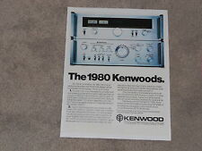 Kenwood Amplfier & Tuner Ad, Ka-7100, Kt-7500 Article, 1 page, ready to frame