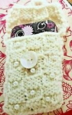 KNITTED PHONE CASE / SOCK   DOUBLE KNITTING DK   KNITTING PATTERN -  2K