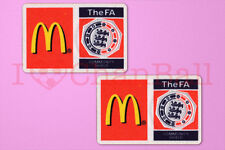 Fa charity shiled mcdonald's 2007, manches 2009 soccer patch/badge