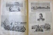 JOURNAL DES VOYAGES N° 513 de 1887 AFRIQUE OEUVRES EMIN PACHA / MARINE PIRATES