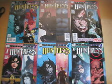 HUNTRESS : YEAR ONE.COMPLETE 6 ISSUE SERIES by MADISON & RICHARDS.BATMAN.DC.2008