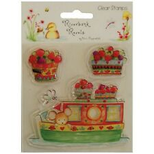 HELZ CUPPLEDITCH RIVERBANK REVELS CLEAR STAMP - BARGE