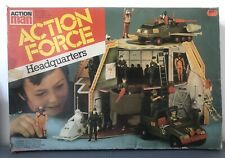 ACTION FORCE HEADQUATERS PLAYSET **RARE PALITOY**