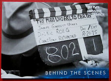 DAVID BOWIE - The Man Who Fell To Earth - Card #46 - Behind The Scenes