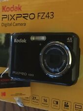 Kodak PIXPRO FZ43 16 MP Digital Camera - Black. 27MM wide angle See Description