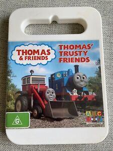 Thomas & Friends Thomas' Trusty Friends 2007 DVD VGC FREE POSTAGE REGION 4