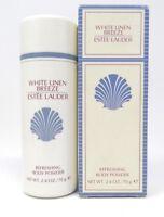 Estee Lauder White Linen Breeze Refreshing Body Powder 2.4 oz. NEW IMPERFECT BOX