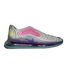 Nike Air Max 720 Pastel Women's Athletic Shoes AR9293-102 Size 10 Unicorn
