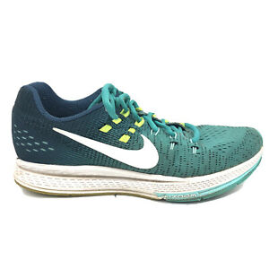 Nike Air Zoom Structure 19 Running Shoes Womens Size 8 Blue Green Sne 806584-302