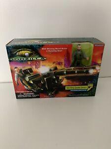 Godzilla Twin Firing Combat Cannon w/Phillipe Trendmasters 1998 Action Figure
