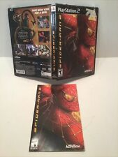 Ultimate Spider-Man - PlayStation 2 PS2 - Case And Manual Only - No Game