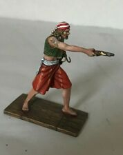 St. Petersburg. Amber. Pirate Aiming with a Pistol, 54 mm