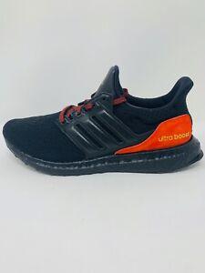 Men's Adidas Ultraboost DNA 4.0 'Black Red' Running Shoe FW4899 Size 9-12