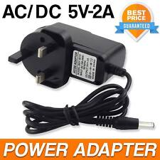 Universal AC/DC Power Adaptor Supply Plug Main Charger 3 Pin 5V 2A UK