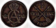 Sweden 1808 One Quarter Skilling