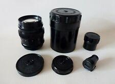 NEW JUPITER-9 2/85 M39 PORTRAIT LENS FOR LEICA FED ZORKI for export+Veiwfinder