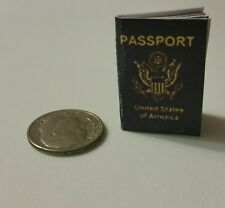 Miniature Jason Bourne American Passport  GI Joe Action Figure 1/12 Scale