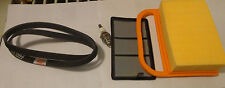 Tune Up Air Filter Kit Belt Spark Plug Fits Stihl Ts420