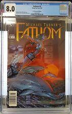 Fathom #5 (May 99) CGC 8.0 (Newsstand Edition)