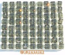 Perle Cube 8mm  8 mm cristal Swarovski 5601 - BLACK DIAMOND