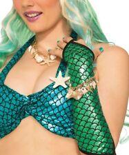 Mermaid Bracelet Fancy Dress Costume Accessory Shells Starfish Pearls