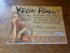 KEVIN PARENT - Petite Publicité de magazine / Advert PIGEON D'ARGILE !!!!!!!