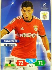 Adrenalyn XL Champions League 13/14 - Enzo Perez - SL Benfica