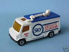 Matchbox Mercedes SKY TV News Van unreleased RARE Pre-pro Trial
