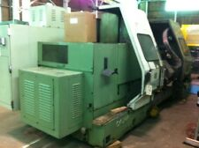 "Okuma CNC Lathe No. LC40-2ST Twin Turret 23"" Swing 2500 RPM Tailstock (25853)"