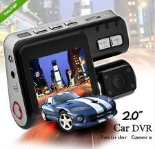 IN CAR DVR CCTV CAMERA DUAL LENS 1080P WIDESCREEN MOTION HD DASH CAM VAN UK