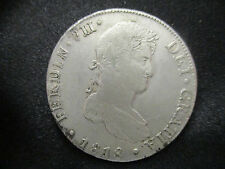 FERNANDO VII LIMA 8 REALES 1818 JP