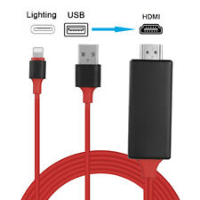 1080P Lightning to HDMI TV AV Adapter Cable for iPad iPhone 7 8 Plus X XS XR 11